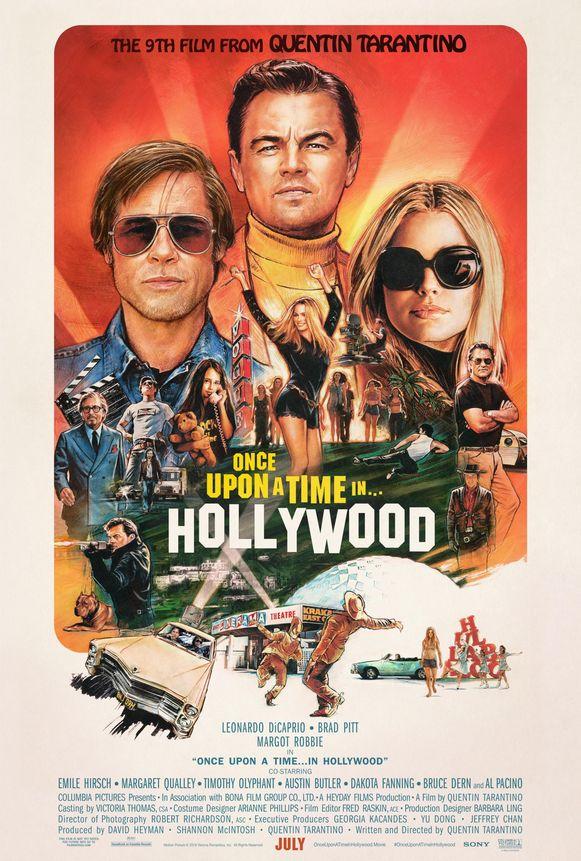 De poster van Tarantino's nieuwste film