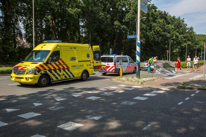 Ongeluk in Roosendaal