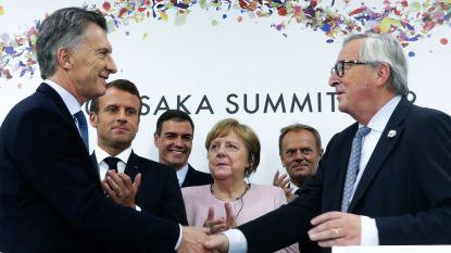 """Frankrijk twijfelt over ratificering van """"grootste handelsovereenkomst ooit"""" met Zuid-Amerikaanse landen"""
