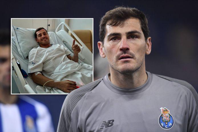 2019: Iker Casillas. Inzet: het duimpje in het ziekenhuis. Casillas maakt het naar omstandigheden goed.