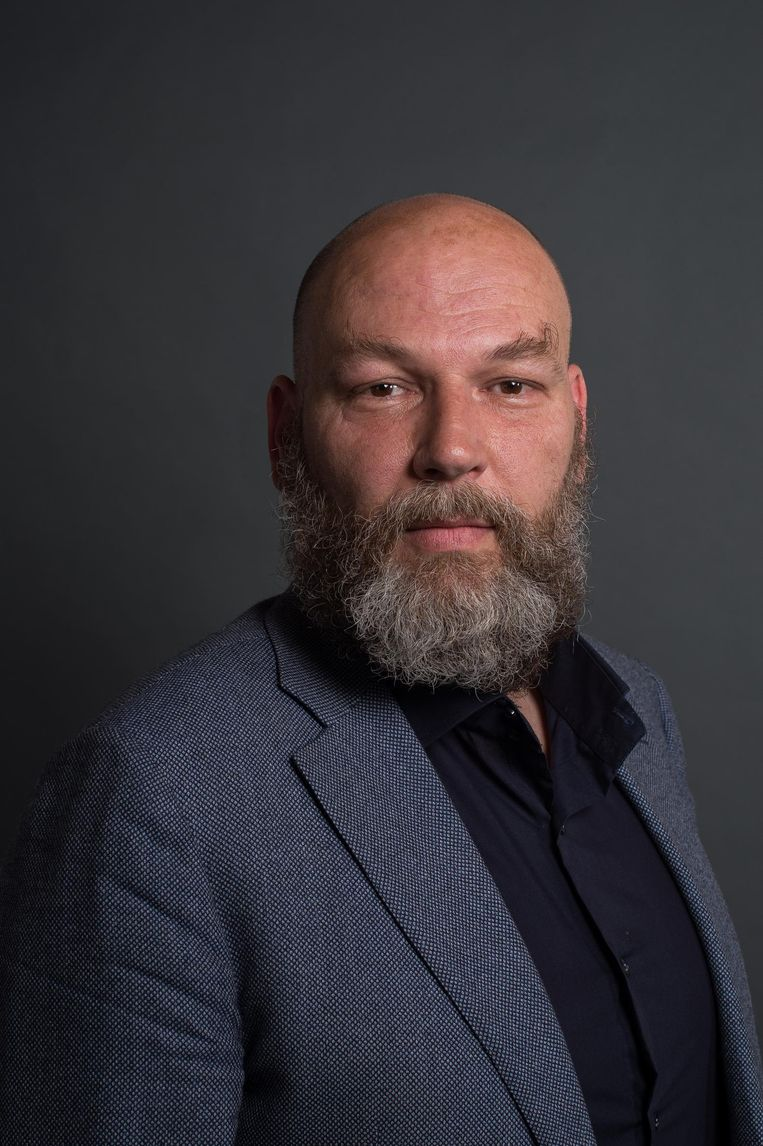Rutger Groot Wassink, lijsttrekker GroenLinks Amsterdam Beeld Mats van Soolingen