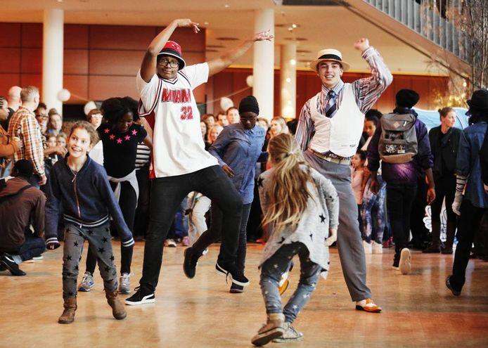 Het Rotterdamse Hiphophuis is een van de culturele instellingen die juist wel goed scoort op culturele diversiteit.