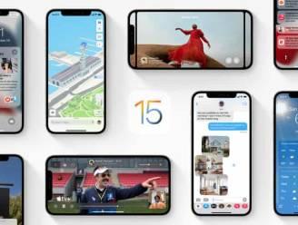 Apple brengt vandaag iOS 15 uit. Deze functies kan je meteen proberen