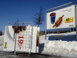 Ikea stopt verkoop hotdogs in Rusland na sporen paard