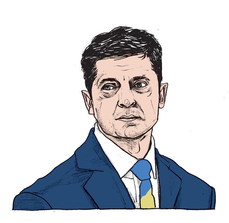 Insiders geven toe dat ze ervan schrokken hoe weinig de president, ex-acteur, wist van de politieke, juridische en diplomatieke wereld. Beeld Gijs Kast