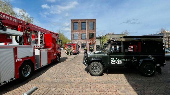 De brand brak uit in de keuken van restaurant QuaKoken