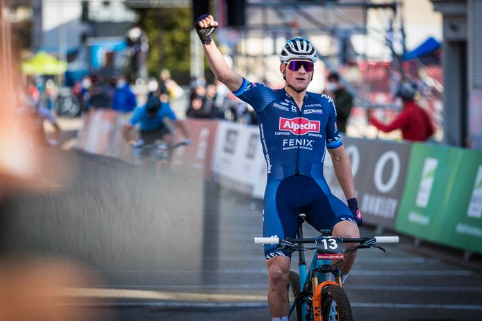Mathieu Van Der Poel wil op de mountainbike goud pakken op de Olympische Spelen.