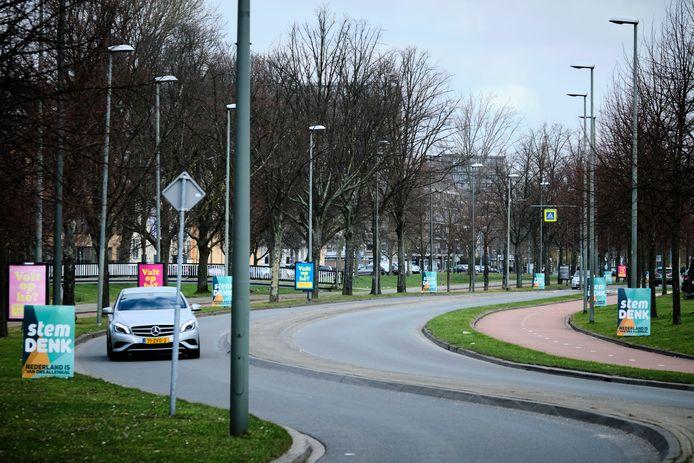 Denk voert campagne in Schiedam.