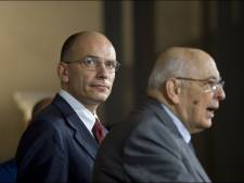 Le gouvernement Letta prête serment