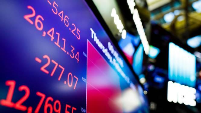 Dow Jones verliest 4,4 procent in één dag