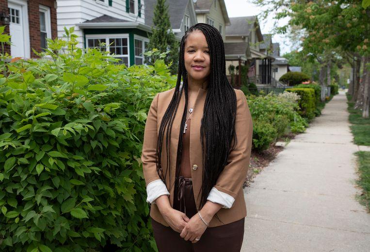 Ondernemer en activist Robin Rue Simmons is het brein achter de herstelbetalingen. Beeld Sarah Hoskins