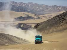Eerselse trucker Van Genugten tweede in eerste etappe Dakar: 'Ik heb genoten in de duinen'
