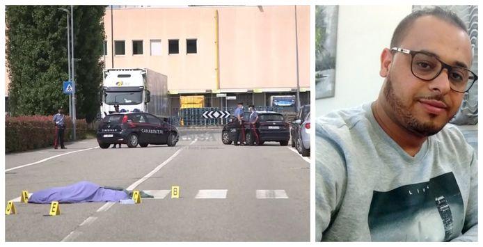 Slachtoffer Adil Belakhdim (37) bezweek ter plekke aan zijn verwondingen. Hij laat twee kinderen na.