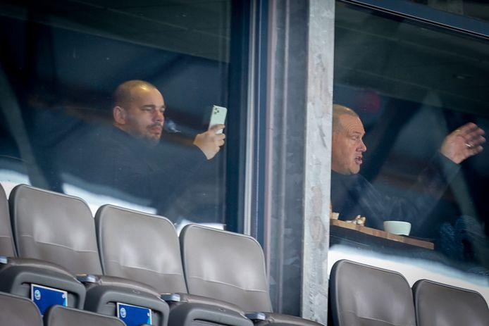 Wesley Sneijder was aanwezig in De Vliert.