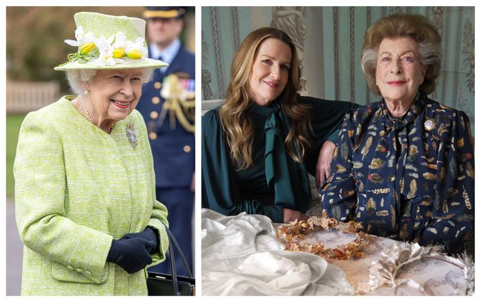 In de nieuwe documentaire 'My Years With The Queen' vertellen Pamela Hicks en haar dochter India (rechts) over hun relatie met de Queen