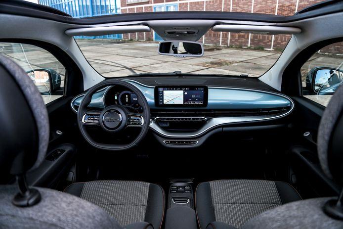 Sfeervol, charmant en toch modern: de Fiat 500e vanbinnen