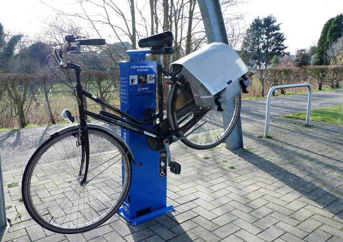 Illustratiebeeld fietsherstelzuil
