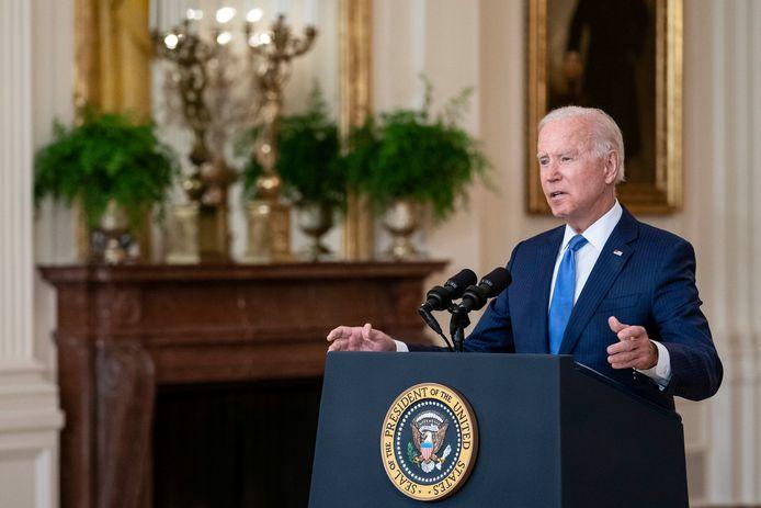 Amerikaans president Joe Biden.