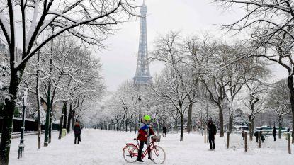 Parijs is één grote skipiste