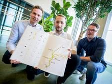 De stromen van Texel in kaart gebracht door studenten TU/e