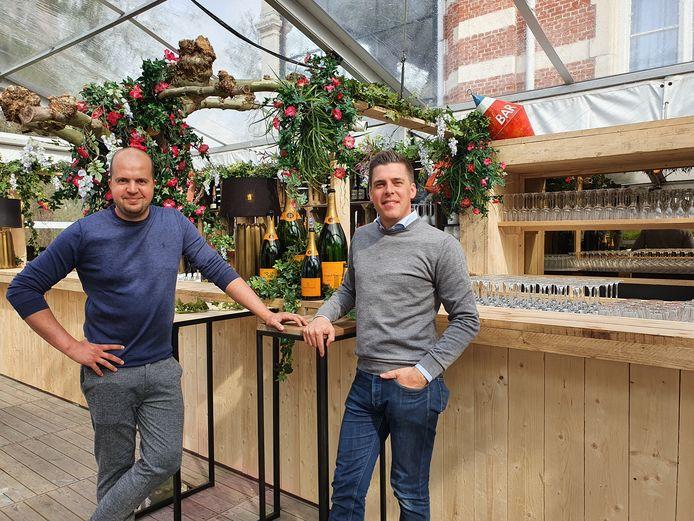 Dieter Van Daele en Tom Vercammen van Chateau Paulette in Brasschaat.