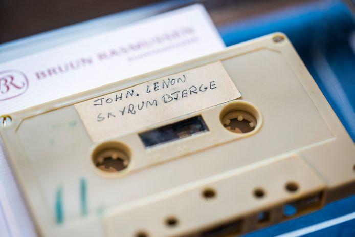 De cassette.
