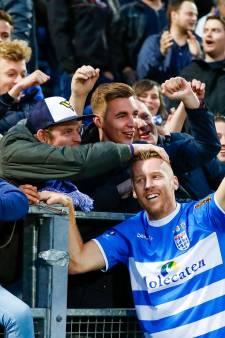 Uitgelekt wedstrijdschema: PEC Zwolle opent eredivisieseizoen, GA Eagles treft eerst MVV