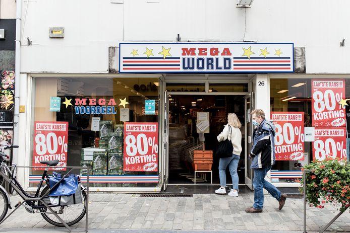 Megaworld was de overnemer van keten Blokker.