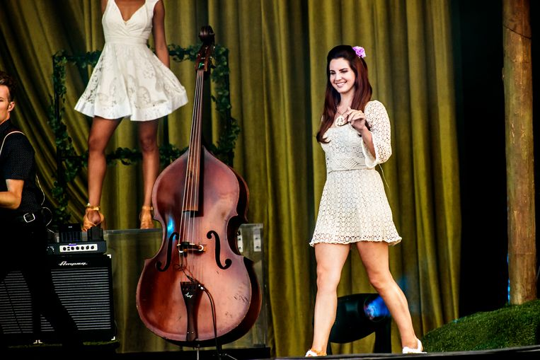 TW Classic 2016, Lana Del Rey Beeld Stefaan Temmerman