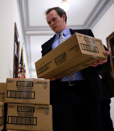 """Le """"bureau à bonbons"""", l'arme secrète des sénateurs américains lors des votes marathon"""