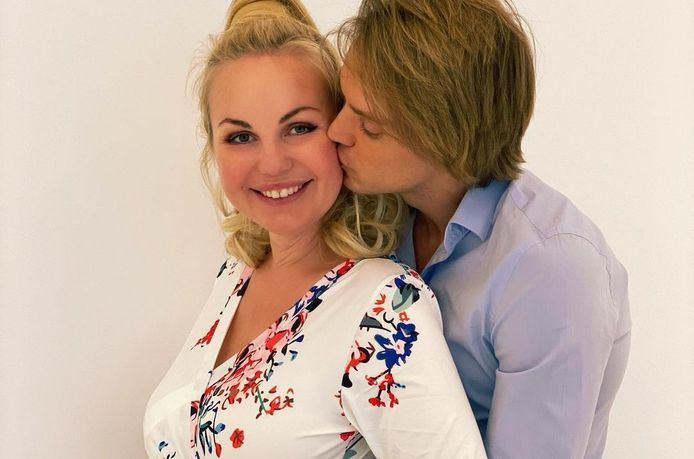 Lesley-Ann Poppe en haar man Kevin.