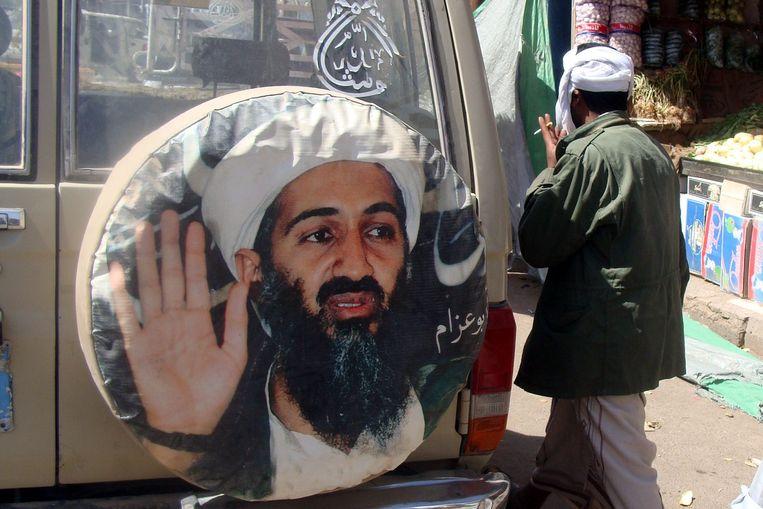 Bin Laden is voor velen nog steeds een grote held. Beeld null