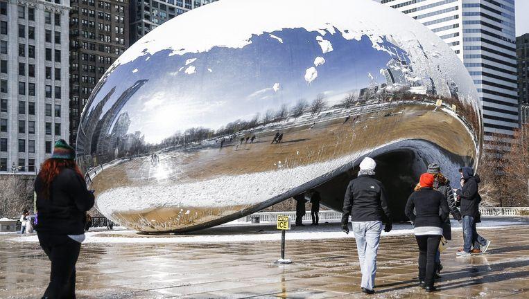 Cloud Gate, in Chicago Beeld epa