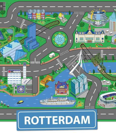 Je kijkt je ogen uit op het enige echte originele Rotterdamse Speelkleed