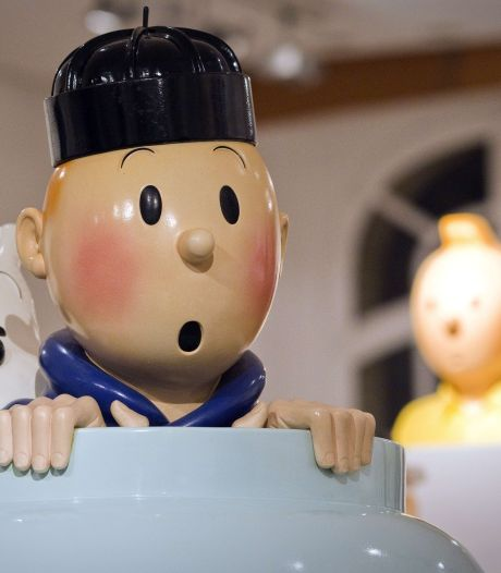 Une sculpture de Tintin adjugée 62.500 euros lors d'une vente Hergé à Paris