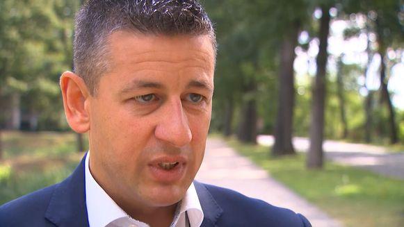 Vlaams Belang-onderhandelaar Chris Janssens.