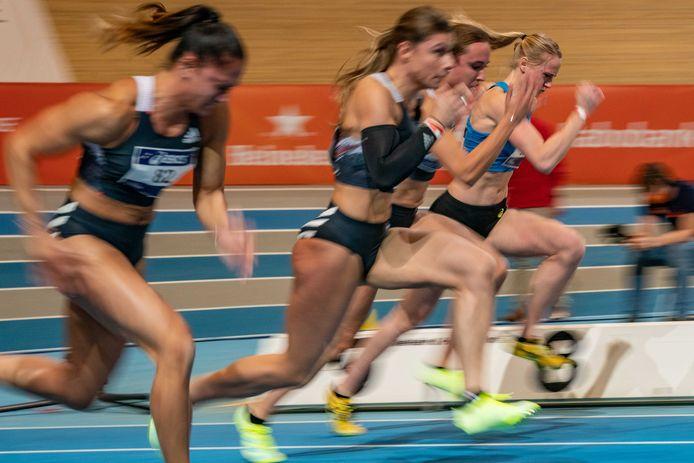 In Apeldoorn wordt dit weekeinde het NK atletiek gehouden.