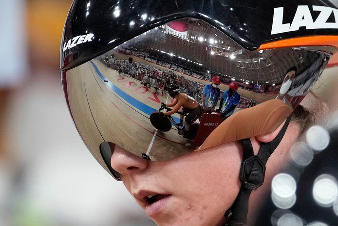 Laurine van Riessen in het scherm van Shanne Braspennicx.