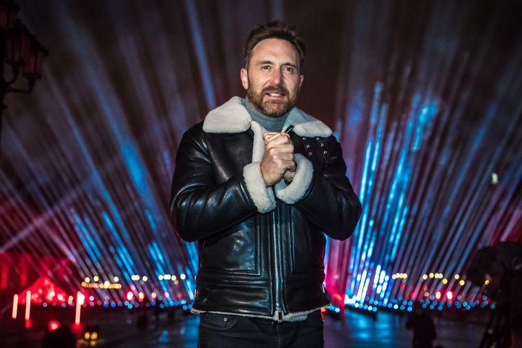 De Franse dj David Guetta. Beeld EPA