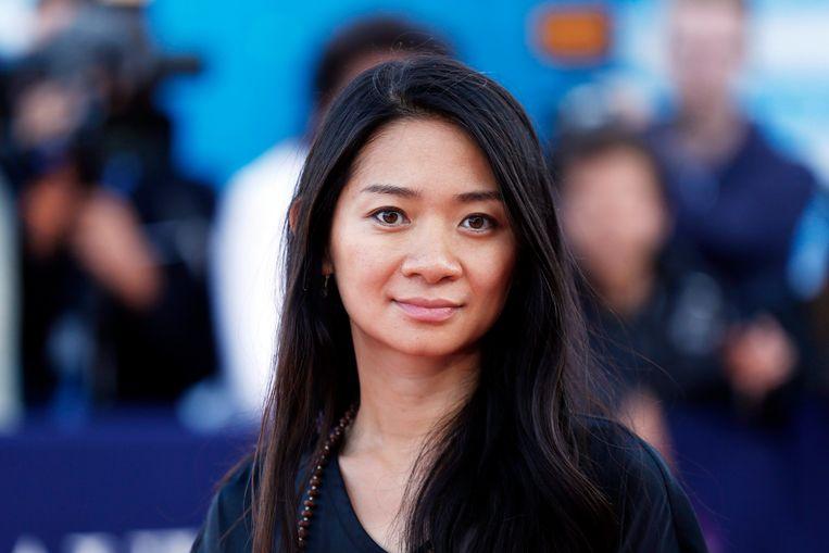 de Amerikaans-Chinese regisseur Chloé Zhao. Beeld EPA