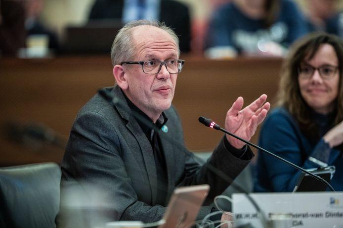 Wim Wassink, fractievoorzitter van het CDA in Winterswijk.