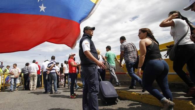 25.000 Venezolanen steken Colombiaanse grens over om voeding en geneesmiddelen te kopen