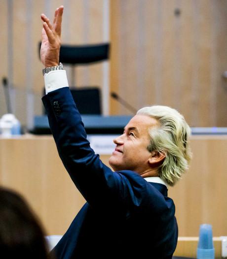 Gerechtshof legt 'minder Marokkanen'-proces rond Wilders stil
