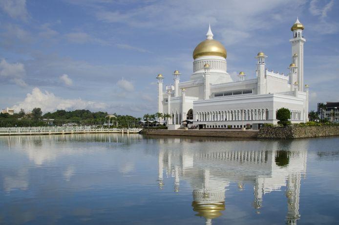 La Mosquée Omar Ali Saifuddin à Bruneï