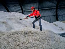 HVC is 'winterklaar': miljoenen kilo's strooizout op voorraad
