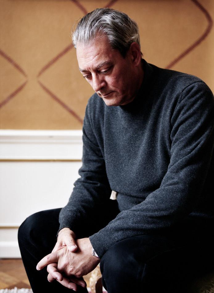 Paul Auster heeft zijn bezoek aan Rotterdam vanwege gezondheidsproblemen afgezegd.