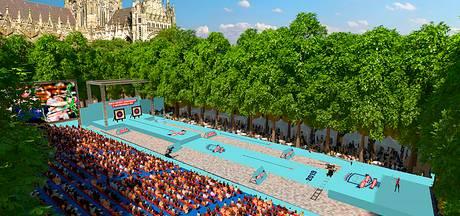 Parade wordt een schietbaan en stadion tijdens WK Handboogschieten in Den Bosch