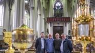 Kunstschatten kijken voor 150ste verjaardag van de kerk op Sint-Lodewijk
