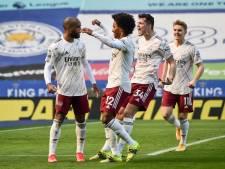 Arsenal weerhoudt Leicester van plek twee, geen goals bij duel met Tete, Riedewald en Van Aanholt