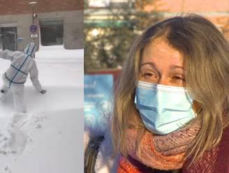"""Vlaamse verpleegster in door koude en corona geteisterde Madrid: """"Deze golf wordt gigantisch"""""""